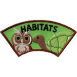 Animal Habitat Advocate Scout Patch