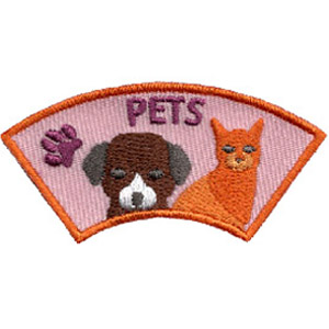 "The Pet Advocate Patch is from the Youth Squad Animal Welfare Patch Program®. MakingFriends®.com partnered with Youth Squad to bring you a rewarding community service program with step-by-step instructions for every age level to make a meaningful impact in their community. This is one of our ""Advocate"" level patches which are geared toward teens. Become an Animal Welfare Advocate by earning all 5 animal welfare advocate level patches. via @gsleader411"