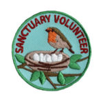 Bird Sanctuary Volunteer Scout Patch