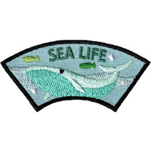 Sea Life Advocate Scout Patch