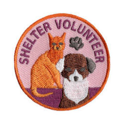 Animal Shelter Volunteer Shelter Scout Patch