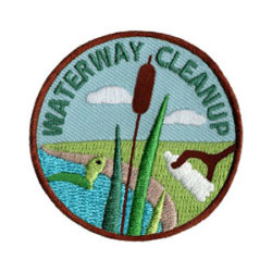 Water way Cleanup Scout Patch
