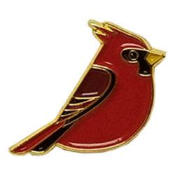Enamel Cardinal Pin