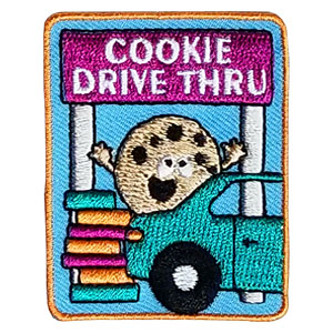 Scout Cookie Drive Thru Patch