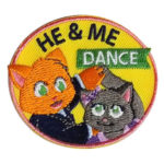 Girl Scout He and Me Dance Fun Patch