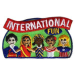 Girl Scout International Fun Patch
