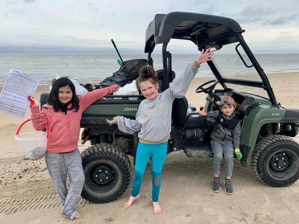 Girl Scout Beach Clean Up