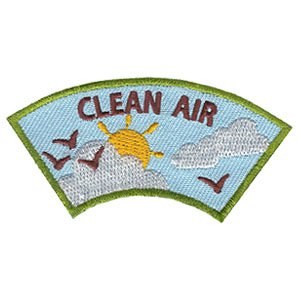 "The Clean Air Advocate Service Patch is from the Youth Squad Environmental Patch Program®. MakingFriends®.com partnered with Youth Squad to bring you a rewarding community service program with step-by-step instructions for every age level to make a meaningful impact in their community. This is one of our ""Advocate"" level patches. The requirements for our Advocate level patch program® are geared toward getting support for a specific project of your choosing. via @gsleader411"