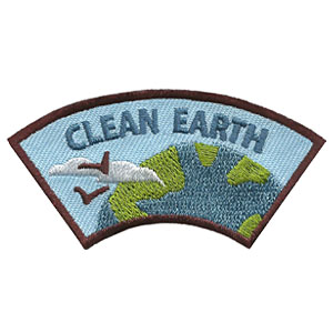 "The Clean Earth Advocate Service Patch is from the Youth Squad Environmental Patch Program®. MakingFriends®.com partnered with Youth Squad to bring you a rewarding community service program with step-by-step instructions for every age level to make a meaningful impact in their community. This is one of our ""Advocate"" level patches. The requirements for our Advocate level patch program® are geared toward getting support for a specific project of your choosing. via @gsleader411"
