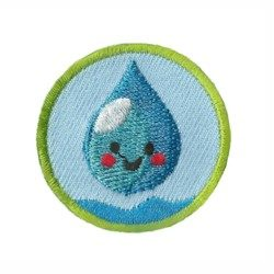Clean Water Helper Youth Strong Patch