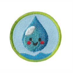 Clean Water Helper Service Patch. Your little ones will enjoy earning this clean water patch and be just like the big kids! The Clean Water Helper Service Patch is part of the Youth Squad Environmental Patch Program® and will teach your kids that clean water is important. The Helping Hands level is specifically created for 3 and 4 year old girls and boys or anyone with the abilities of a preschooler. Perfect for tag alongs at your troop meeting. via @gsleader411