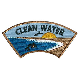 "The Clean Water Advocate Service Patch is from the Youth Squad Environmental Patch Program®. MakingFriends®.com partnered with Youth Squad to bring you a rewarding community service program with step-by-step instructions for every age level to make a meaningful impact in their community. This is one of our ""Advocate"" level patches. The requirements for our Advocate level patch program® are geared toward getting support for a specific project of your choosing. via @gsleader411"