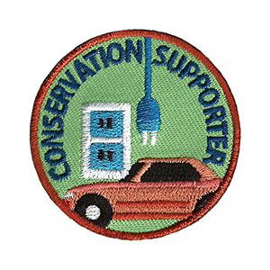 "The Conservation Supporter Service Patch is from the Youth Squad Environmental Patch Program®. MakingFriends®.com partnered with Youth Squad to bring you a rewarding community service program with step-by-step instructions for every age level to make a meaningful impact in their community. This is one of our ""Volunteer"" level patches. Children as young as eight years old can self-lead by following along with the requirements. via @gsleader411"