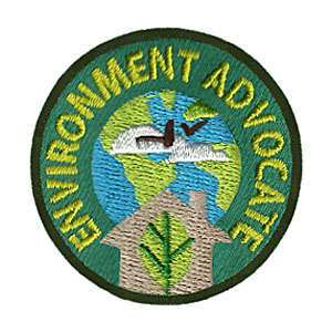 The Environment Advocate Service Patch is from the Youth Squad Environmental Patch Program®. MakingFriends®.com partnered with Youth Squad to bring you a rewarding community service program with step-by-step instructions for every age level to make a meaningful impact in their community. Earn the Environment Advocate Service Patch by completing all 5 advocate level service patches. This program is designed to be flexible for anyone and any group. via @gsleader411