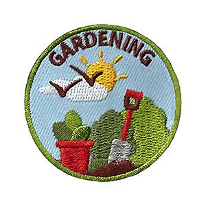 "The Gardening Service Patch is from the Youth Squad Environmental Patch Program®. MakingFriends®.com partnered with Youth Squad to bring you a rewarding community service program with step-by-step instructions for every age level to make a meaningful impact in their community. This is one of our ""Friend"" level patches which is great for younger achievers.   via @gsleader411"