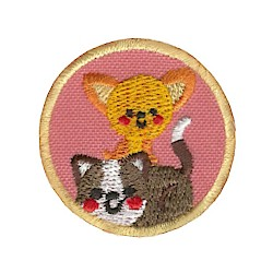 Youth Strong Helping Hands Pet Patch