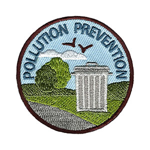 "The Pollution Prevention Service Patch is from the Youth Squad Environmental Patch Program®. MakingFriends®.com partnered with Youth Squad to bring you a rewarding community service program with step-by-step instructions for every age level to make a meaningful impact in their community. This is one of our ""Volunteer"" level patches. Children as young as eight years old can self-lead by following along with the requirements. via @gsleader411"