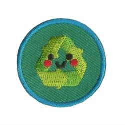 Recycling Helper Youth Strong Patch