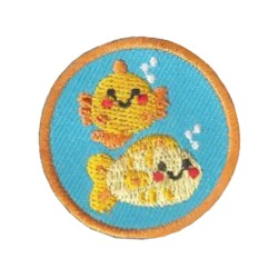 Your little ones will enjoy earning this Sea Life Helper patch and be just like the big kids!
