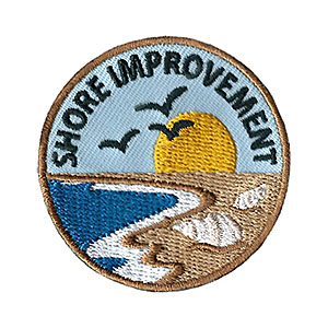 "The Shore Improvement Service Patch is from the Youth Squad Environmental Patch Program®. MakingFriends®.com partnered with Youth Squad to bring you a rewarding community service program with step-by-step instructions for every age level to make a meaningful impact in their community. This is one of our ""Volunteer"" level patches. Children as young as eight years old can self-lead by following along with the requirements. via @gsleader411"