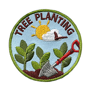 "The Tree Planting Service Patch is from the Youth Squad Environmental Patch Program®. MakingFriends®.com partnered with Youth Squad to bring you a rewarding community service program with step-by-step instructions for every age level to make a meaningful impact in their community. This is one of our ""Volunteer"" level patches. Children as young as eight years old can self-lead by following along with the requirements. via @gsleader411"