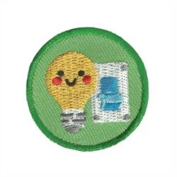 Turn It Off Helper Youth Strong Patch