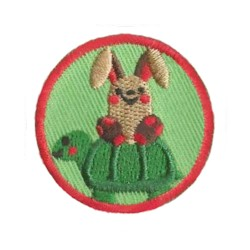 Your little ones will enjoy earning this Wildlife Helper patch and be just like the big kids!