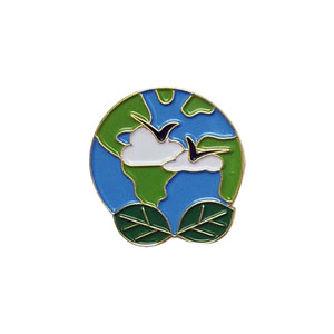 """The Clean Earth Delegate Pin is from the Youth Squad Environmental Patch Program®. MakingFriends®.com partnered with Youth Squad to bring you a rewarding community service program with step-by-step instructions for every age level to make a meaningful impact in their community. This is one of our """"Delegate"""" level pins. The requirements for our Delegate level provide teens with valuable life experience and a completed project to include on a resume or college application. via @gsleader411"""