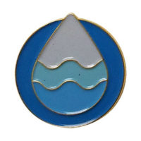 Water Drop Pin