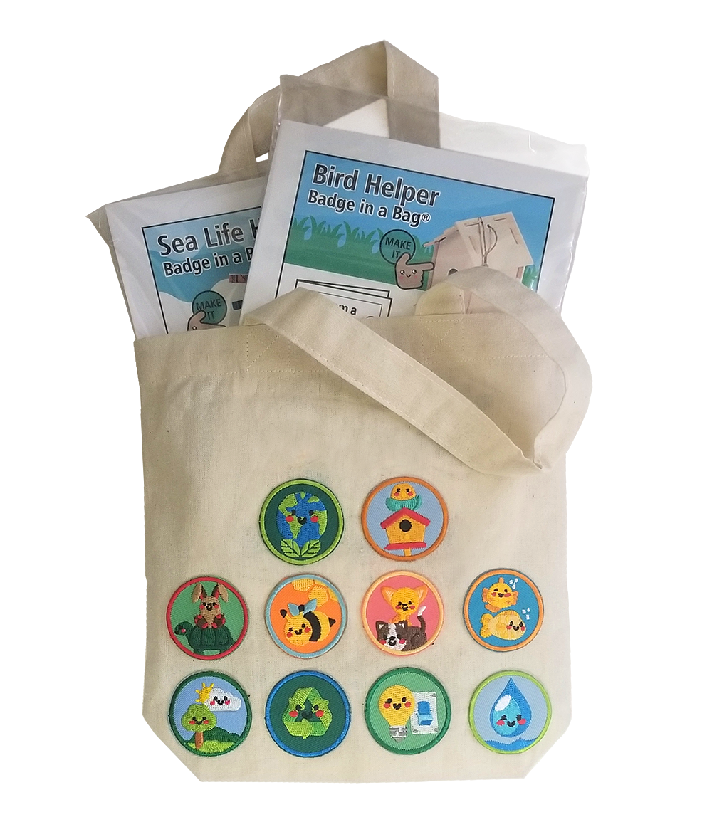 Youth Strong Helping Hands Tote. Your little Helping Hands will be proud to display the patches they've earned on their very own tote bag. Part of the Youth Strong Community Service Program. Learn more at MakingFriends®.com. via @gsleader411