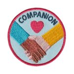 Companion Service Patch from Youth Strong