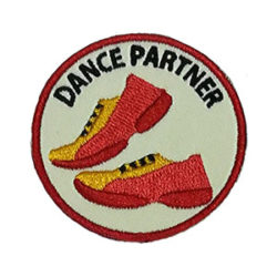 Dance Partner Service Patch from Youth Strong