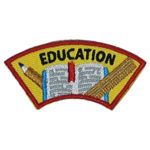 Education Advocate Service Patch from Youth Strong