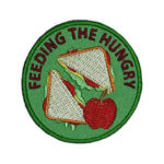Feeding the Hungry Service Patch from Youth Strong