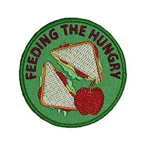 Feeding the Hungry Service Patch from Youth Squad