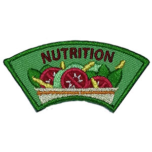 """The Nutrition Advocate Service Patch is from the Youth Squad Outreach Patch Program®. MakingFriends®.com partnered with Youth Squad to bring you a rewarding community service program with step-by-step instructions for every age level to make a meaningful impact in their community. This is one of our """"Advocate"""" level patches which are geared toward teens. Become an Outreach Advocate by earning all 5 outreach advocate level patches. via @gsleader411"""
