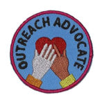 Outreach Advocate Service Patch from Youth Strong