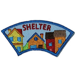 Shelter Advocate Service Patch from Youth Squad