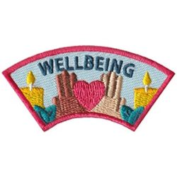 Wellbeing Advocate Service Patch from Youth Strong