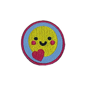 Happiness Helper Service Patch. Your little ones will enjoy earning this happiness patch and be just like the big kids! The Helping Hands level is specifically created for 3 and 4 year old girls and boys or anyone with the abilities of a preschooler. Perfect for tag alongs at your troop meeting. Part of the Outreach Patch program from Youth Squad and MakingFriends®.com. via @gsleader411