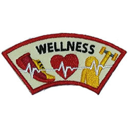 Wellness Advocate Service Patch from Youth Strong