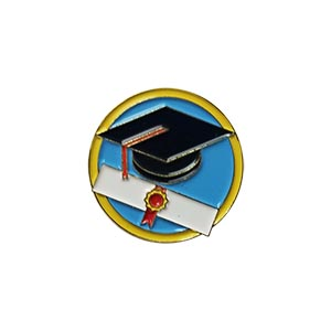 Education Delegate Pin for Community Service from Youth Strong