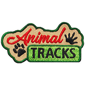 Animal Tracks Patch. The perfect patch to remember your camping or hiking trip. A great compliment to our Animal Tracks Friendship Swap Kit! Available at MakingFriends®.com. via @gsleader411