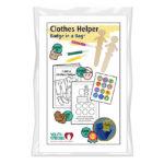 Clothes Helper Badge in a Bag