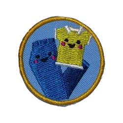 Clothes Helper Service Patch from Youth Squad