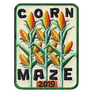 Corn Maze 2019 Patch from MakingFriends®.com on sale while supplies last. Take a trip to a corn maze and give your scouts this patch to remember the fun! Limited supplies available at MakingFriends®.com.  via @gsleader411