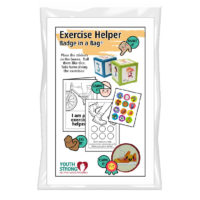 Exercise Helper Badge in a Bag