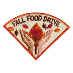 Fall Food Drive Service Patch