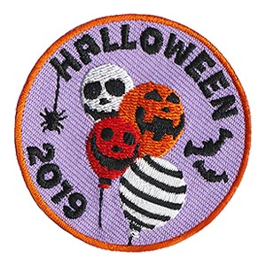Halloween 2019 Patch. Having a spooky Halloween party or a costume party? Hand out our Halloween 2019 patch from MakingFriends®.com after the fun! Limited supplies available. On sale while supplies last. via @gsleader411