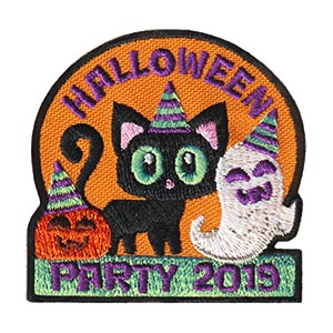 Girl Scout Halloween Party 2019 Fun Patch
